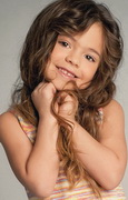model Kocharian Eliza    Year of birth 2005    Eyes color: brown    Hair color: light brown