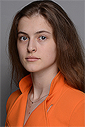model Lapiga Ekaterina    Year of birth 2005    Eyes color: brown    Hair color: light brown