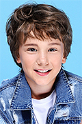 model Panov Nikita    Year of birth 2009    Eyes color: brown    Hair color: light brown