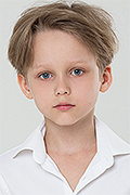 model Petrukhin Alexey    Year of birth 2009    Eyes color: blue    Hair color: light brown