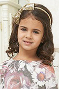 model Pogosyan Vera    Year of birth 2010    Eyes color: brown    Hair color: dark brown