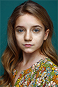 model Nemtsova Vasilisa    Year of birth 2010    Eyes color: grey-blue    Hair color: light brown