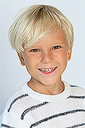 model Sidorov Arseniy    Year of birth 2010    Eyes color: grey-green    Hair color: light brown