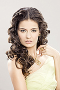 model Visotskaya Tatyana    Year of birth 1985    Height: 176    Eyes color: brown    Hair color: dark brown