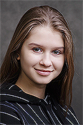 model Zaporozhets Elizaveta    Year of birth 2002    Eyes color: grey    Hair color: light brown