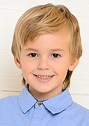 model Myznikov Daniil    Year of birth 2008    Eyes color: brown    Hair color: light brown