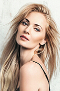 model Galperina Elena    Year of birth 1983    Height: 182    Eyes color: grey-green    Hair color: blond