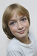 model Mahonin Dmitriy    Year of birth 2010    Eyes color: blue    Hair color: blond