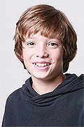 model Baynov Vladimir    Year of birth 2012    Eyes color: brown-green    Hair color: light brown