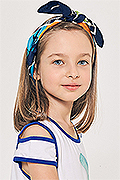 model Kartashova Anna    Year of birth 2010    Eyes color: grey-blue    Hair color: dark brown