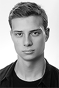 model Nesterenko Andrey    Year of birth 1999    Height: 196    Eyes color: brown    Hair color: dark brown