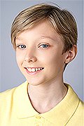 model Vasilyev Daniil    Year of birth 2008    Eyes color: grey-blue    Hair color: light brown