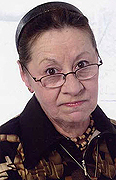model Zakharova Bronislava    Year of birth 1941    Height: 151    Eyes color: brown    Hair color: light brown