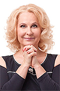 model Kudelinskaya Marina    Year of birth 1964    Height: 167    Eyes color: green    Hair color: blonde