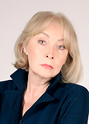 model Tzagina Elena    Year of birth 1950    Height: 176    Eyes color: grey    Hair color: blonde