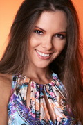 model Zhogina Ekaterina    Year of birth 1981    Height: 163    Eyes color: brown-green    Hair color: brown